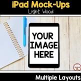 Ipad Mock Ups for Digital Resources Light Wood