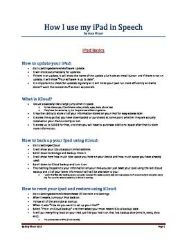 Ipad Presentation Information for Personal UseiPad