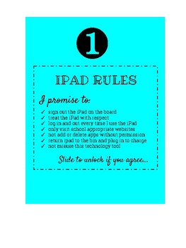 Ipad Rules & Numbers