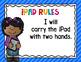 iPad Rules Posters {Editable}