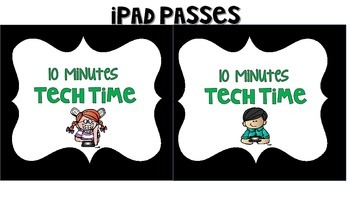 Ipad Rules and Free Time Passes