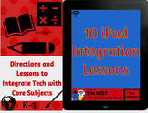 Ipad Tech Integration Lessons