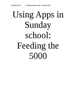Ipad apps for Sun Sch series - Feeding the 5000