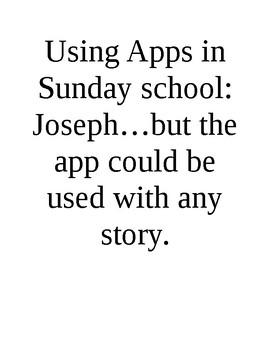 Ipad apps for Sun Sch series - Joseph