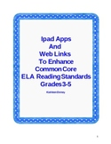 Ipad apps  to Enhance Common Core ELA Reading standards in Grades 3-5
