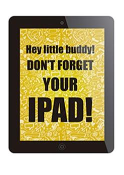 Ipad reminder
