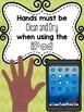 iPad rules posters ~ editable