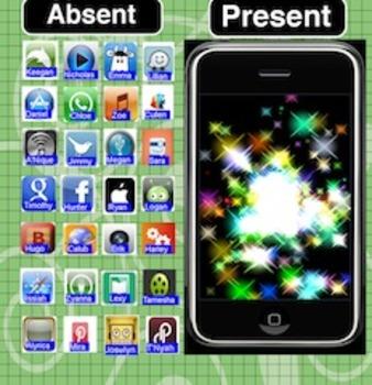 Iphone Attendance Flipchart