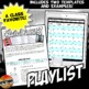 Music Playlist & Template: History or Reading Graphic Organizer