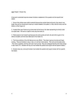 Iqbal by Francesco D'Adamo Unit Plan - Common Core