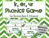 Ir, Er, Ur R-Controlled Phonics Game - Great for Centers!