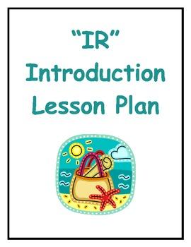 Ir Inductive Lesson Plan