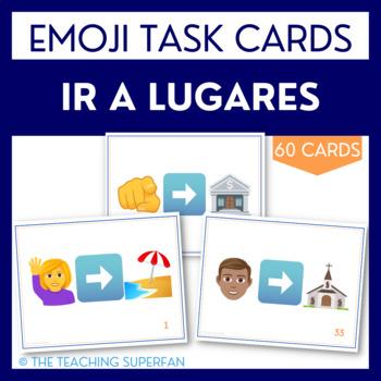 Ir a Lugares Task Cards