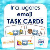 Spanish Going Places (Ir a Lugares) Emoji Puzzle Task Cards