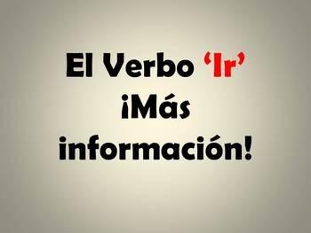 Ir + a + infinitive Powerpoint