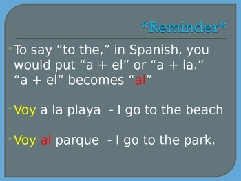 Ir + a + infinitive lesson and practice