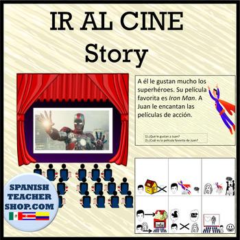 Ir al Cine Películas vocab Spanish Story