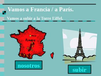Ir and IR a + infinitive Spanish verb powerpoint