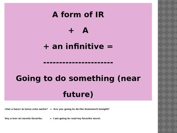 Ir and Tener: A review of ir and tener along with tener expressions