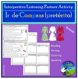 Ir de Compras - Clothing/Food - Interpretive Listening Act