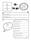 Ir worksheet