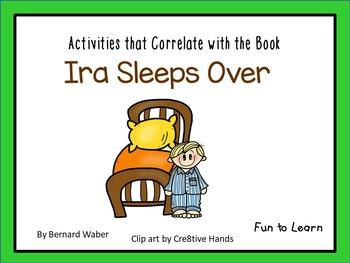 Ira Sleeps Over ~ 43 pgs. Common Core Activities