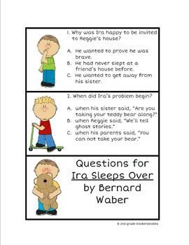 Ira Sleeps Over: A Common Core Book Study
