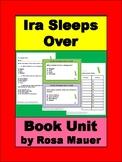 Ira Sleeps Over Book Unit