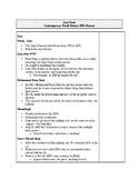 Iran 1925-1989 Presentation Notes Sheet