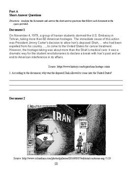 Iran Hostage Crisis DBQ