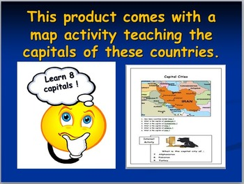 Iran Map Activities