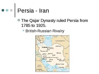Iran Presentation 1925-1989 Preview