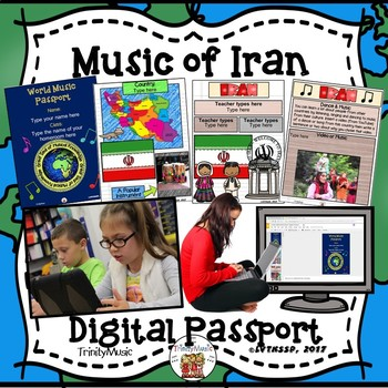 Iran World Music Digital Passport