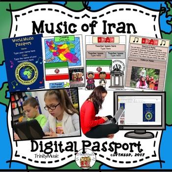 Iran World Music Digital Passport