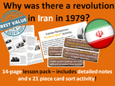 Iranian Revolution Causes - 14-page full lesson (notes, card sort)