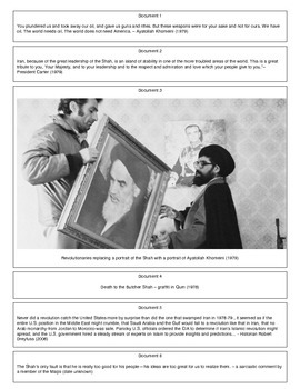 Iranian Revolution (Document Packet)