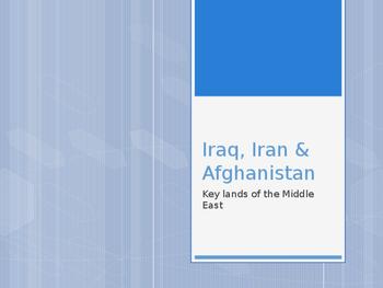Iraq, Iran & Afghanistan