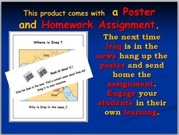Iraq Map Activities