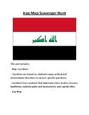 Iraq Map Scavenger Hunt