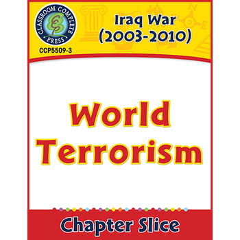 Iraq War (2003-2010): World Terrorism Gr. 5-8