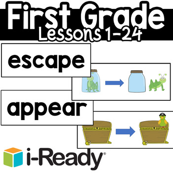 Iready First grade Vocabulary Set by Keep On Teaching | TpT