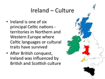 Ireland Geography and History PowerPoint Presentation