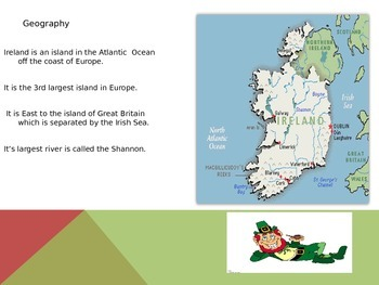 Geography- What is life like in Ireland today?