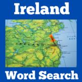 Ireland Unit Study Worksheet