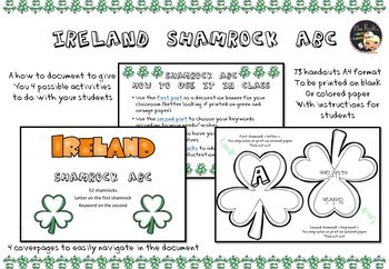 St Patrick's Day Activities - ABC Bunting