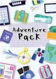 Ireland Adventure Pack, Travel, Explore, Learn about World, Differentiated