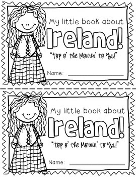 Ireland Booklet (A Country Study!)