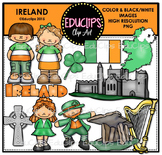 Ireland Clip Art Bundle {Educlips Clipart}