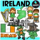 Ireland Clip Art Bundle {Educlips Clipart}