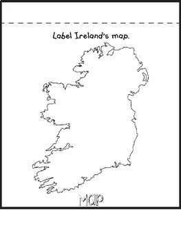 Ireland Country Research Flip Book